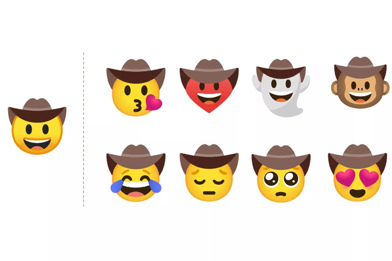 Googles Emoji Kitchen gör mashups av befintliga emojis