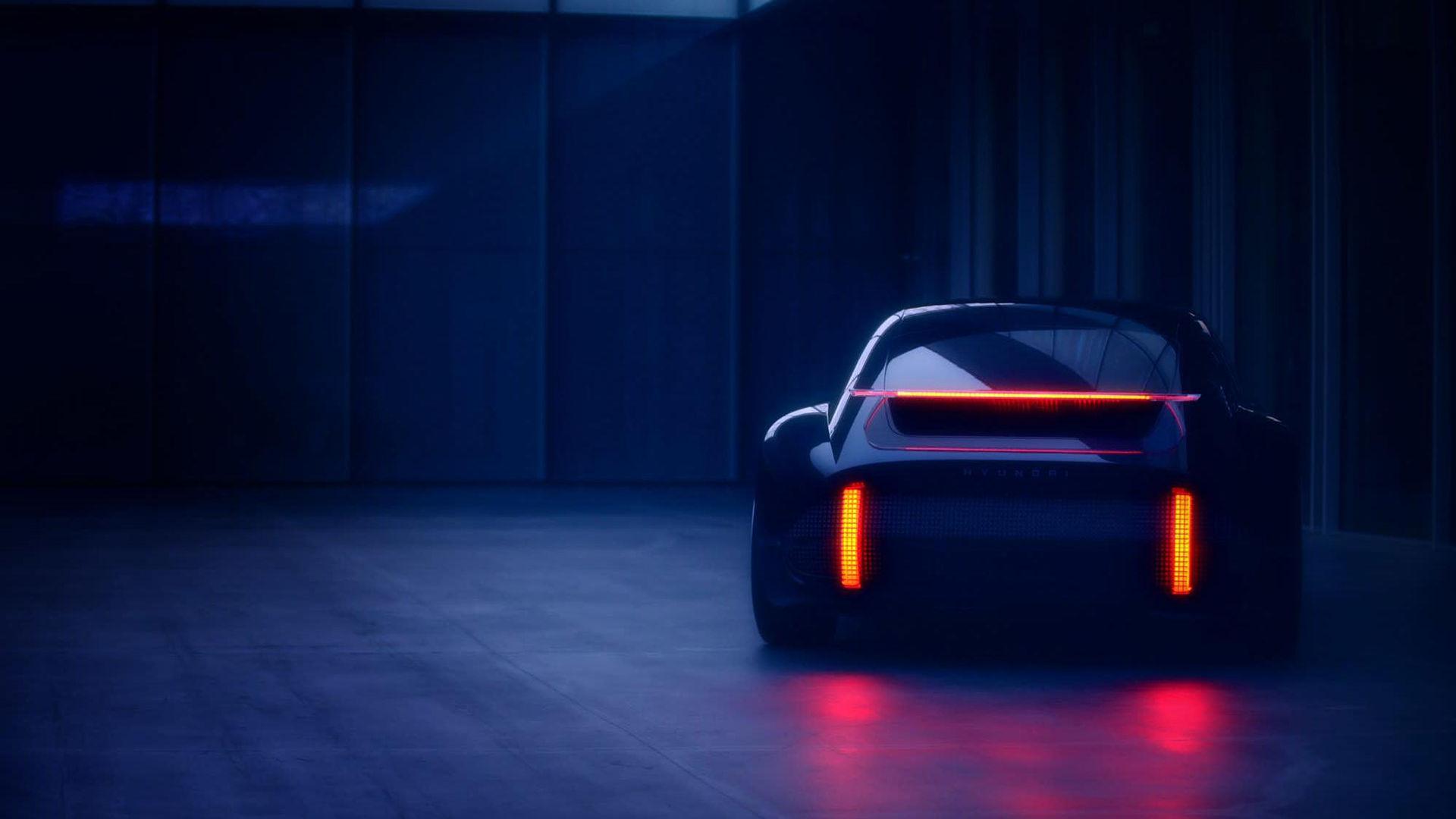Hyundai Prophecy - ny eldriven sportbil