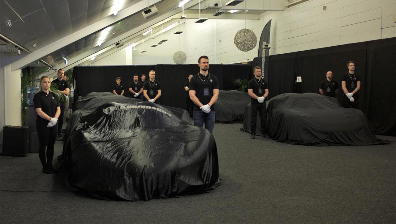 Koenigsegg tar med sig ny hybrid-bil till Genève?
