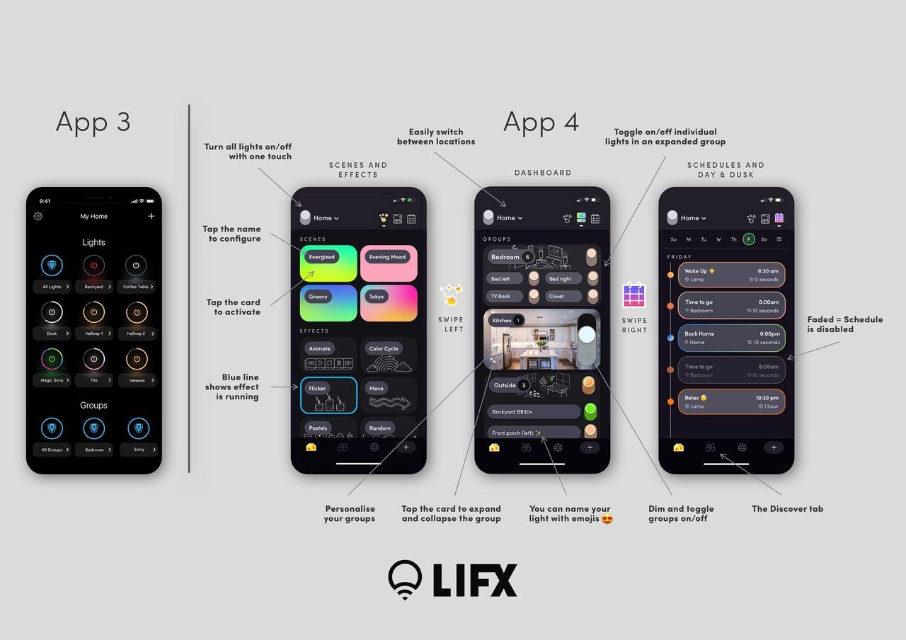 LIFX uppdaterar sin app