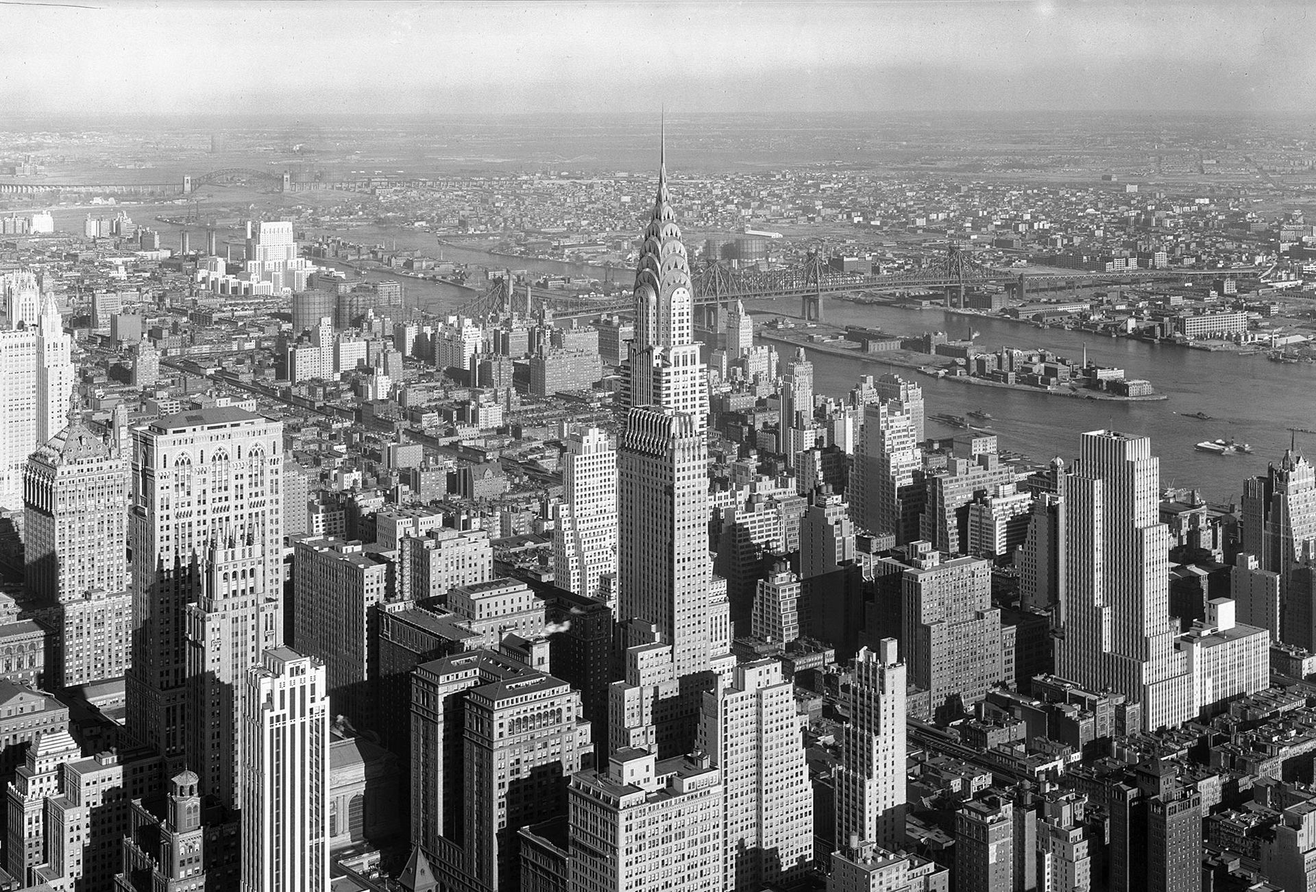 Kolla in när Chrysler Building byggdes