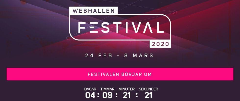 Webhallen drar igång Webhallen Festival