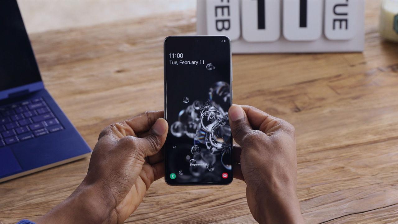 Samsung Galaxy S20 Ultra har världens bästa skärm
