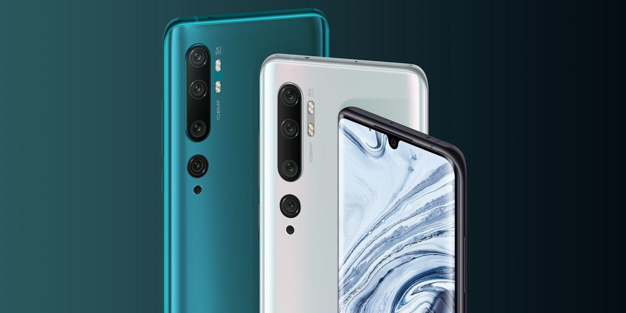 Xiaomi Mi Note 10 börjar säljas hos Telia