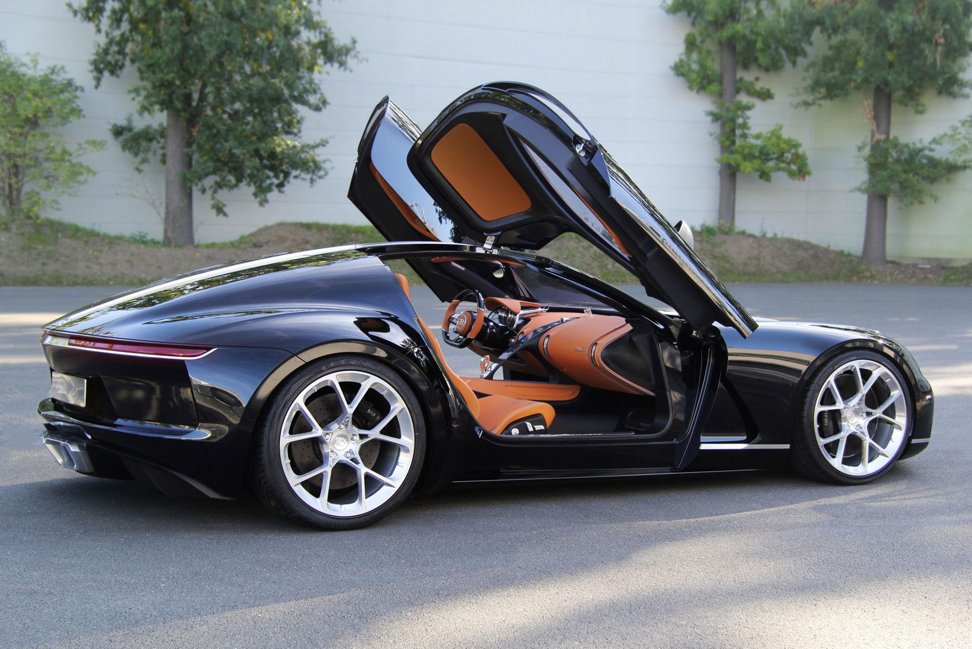 Tre stycken Bugatti-koncept som aldrig blev av