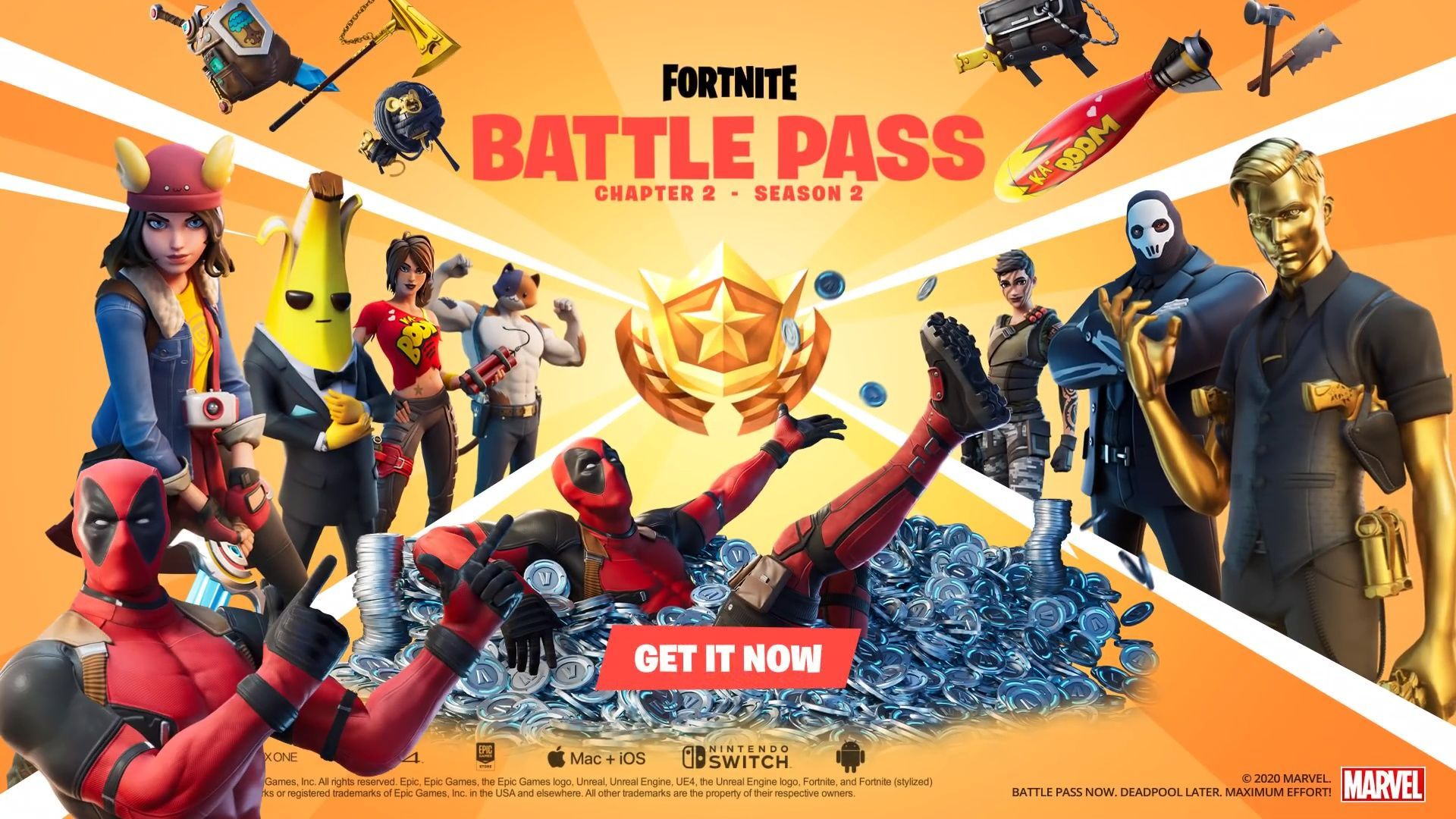 Epic Games släpper Fortnite Chapter 2