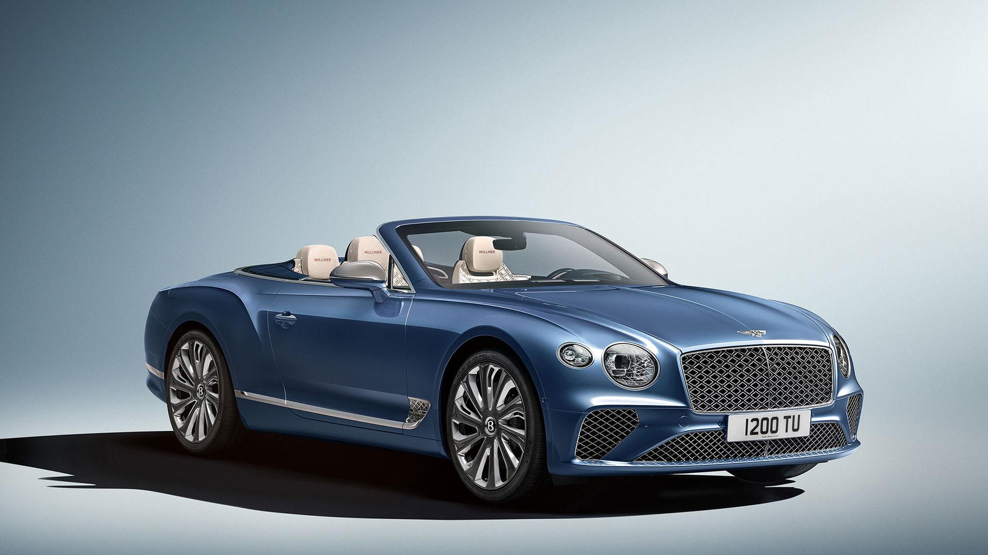 Det här är Mulliners nya Bentley Continental GT cabriolet