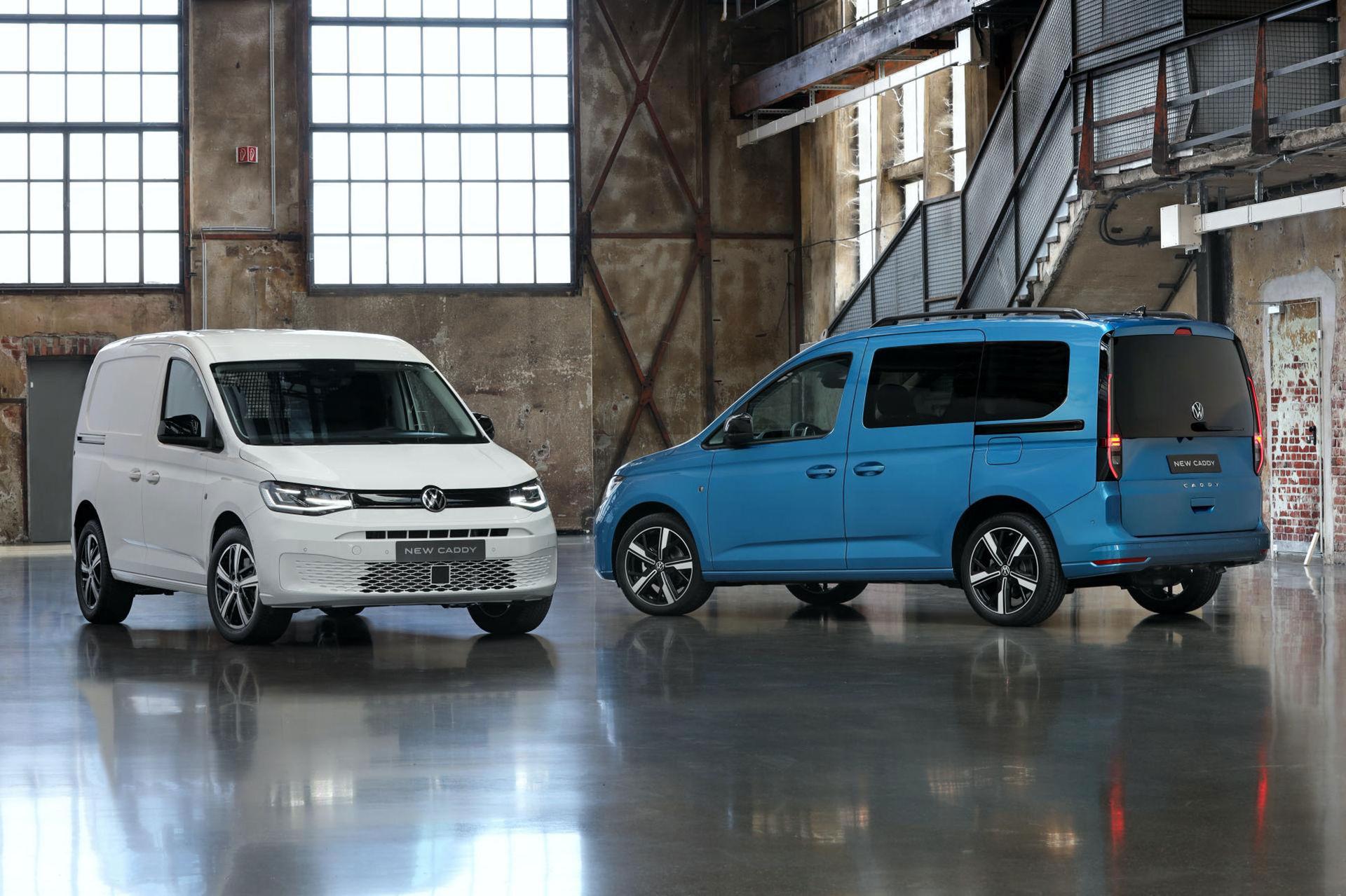 Volkswagen presenterar nya Caddy