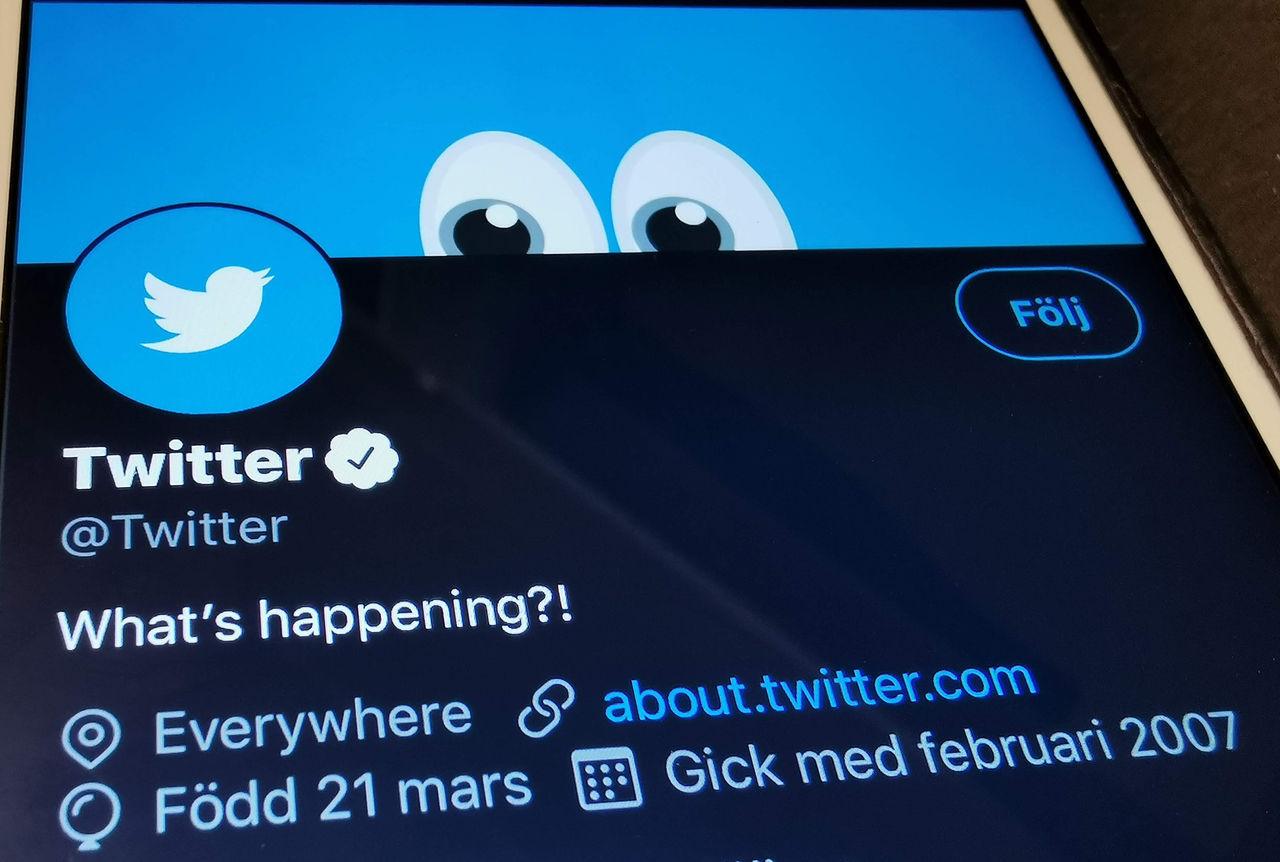 Twitter testar att märka missvisande inlägg från politiker