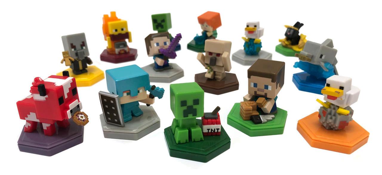 Nu kommer samlarfigurer till Minecraft Earth