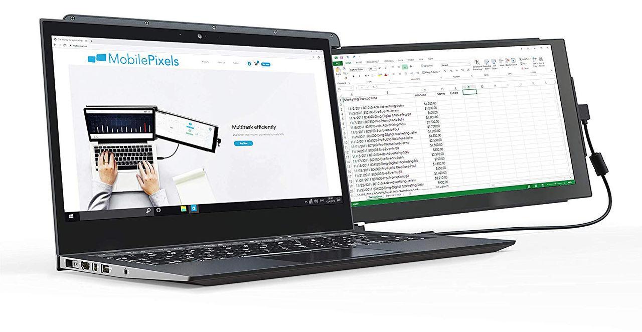 Duex Pro är en extraskärm till laptops