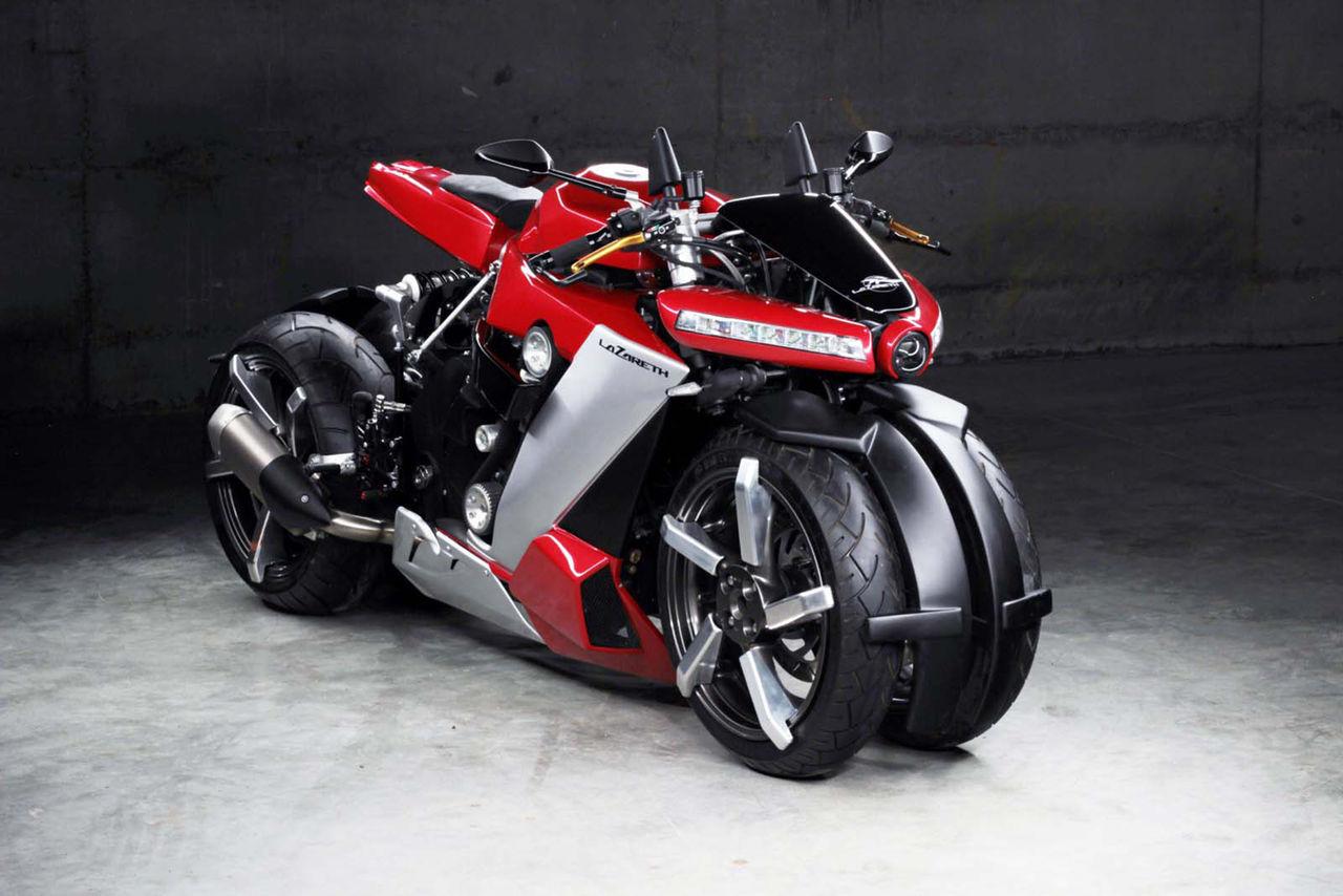 Ny fyrhjulig motorcykel från Lazareth