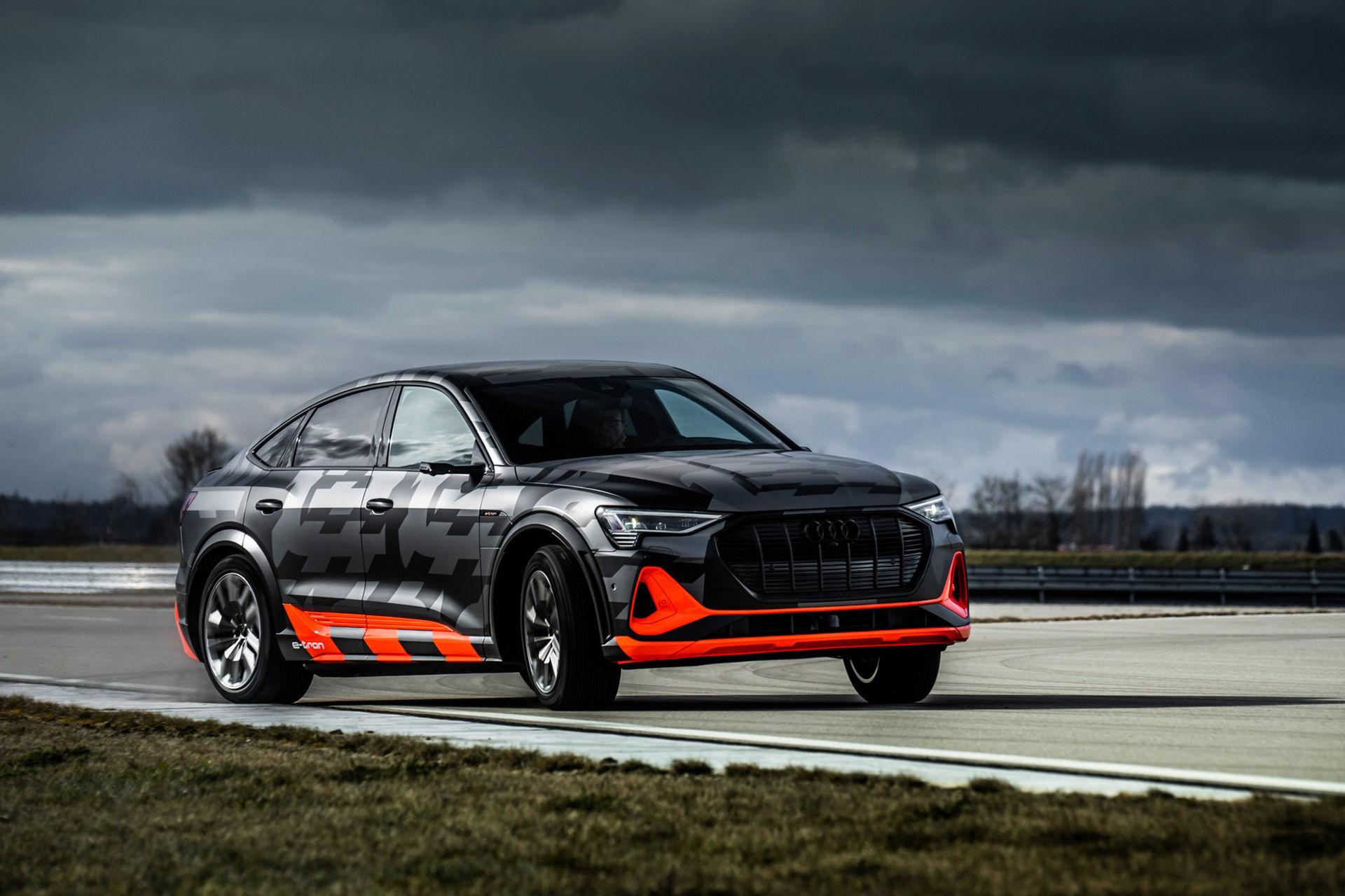Audis elbil e-tron presenteras i S-version