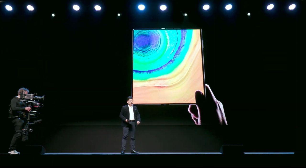 Huawei presenterar Mate XS