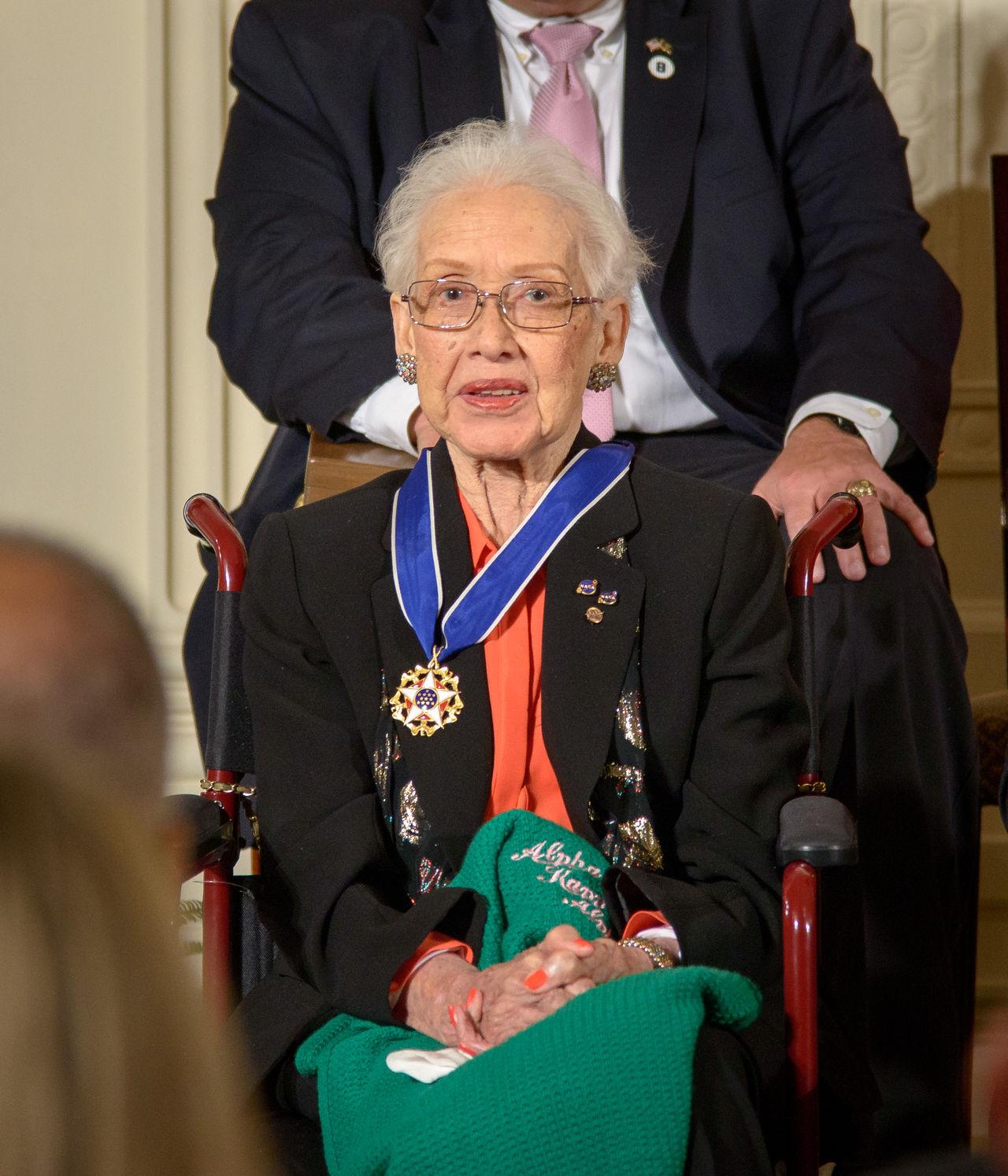 NASA-legendaren Katherine Johnson har gått bort
