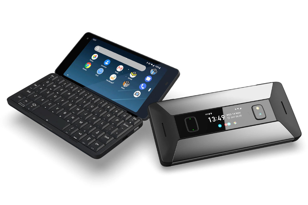 Cosmo Communicator kan köra både Android och Linux