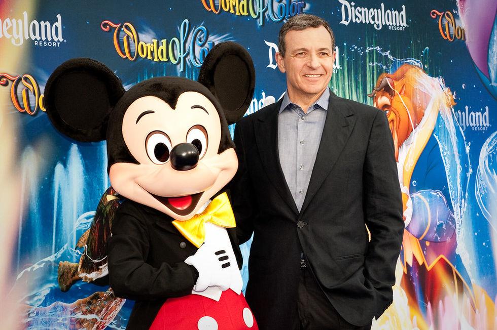 Bob Iger slutar som vd för Disney