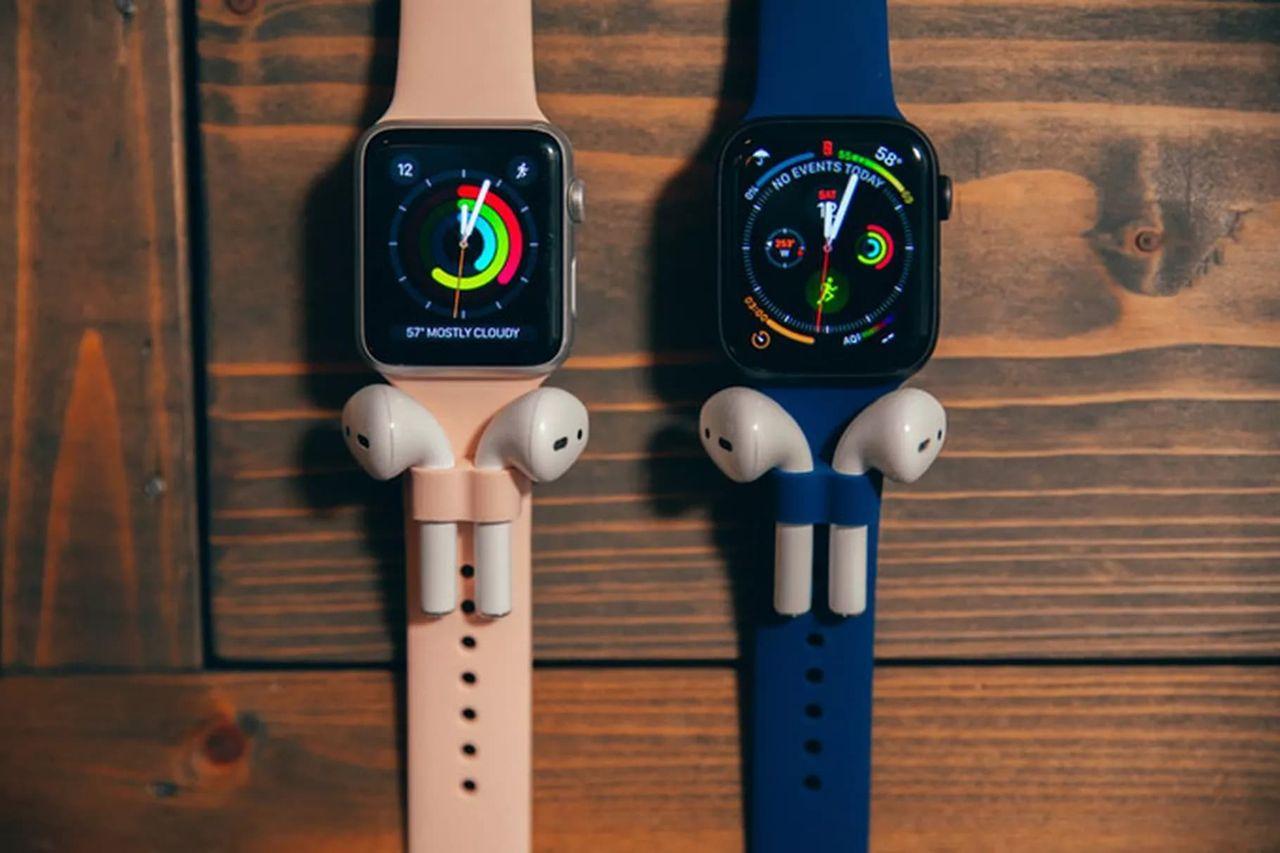 Fäst dina AirPods på Apple Watch med AirBand