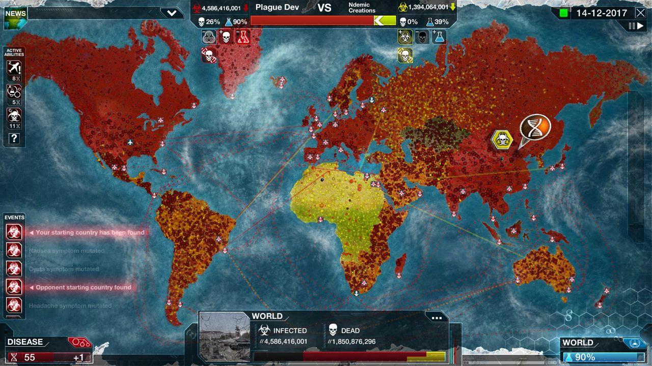 Spelet Plague Inc. stoppas i Kina