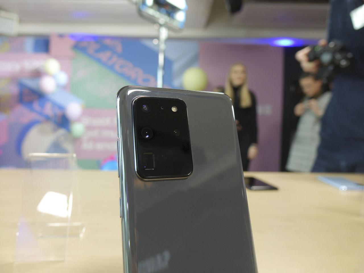 Samsung lovar att förbättra kamera i S20 med uppdatering