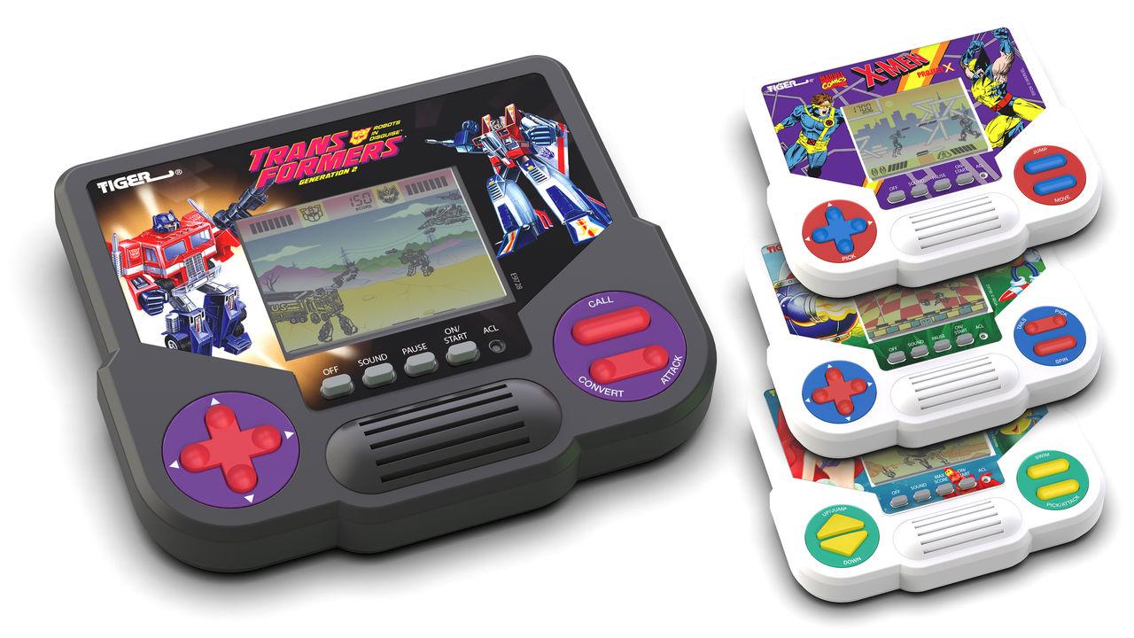 Hasbro släpper Tigers handhålla retro-konsoler på nytt