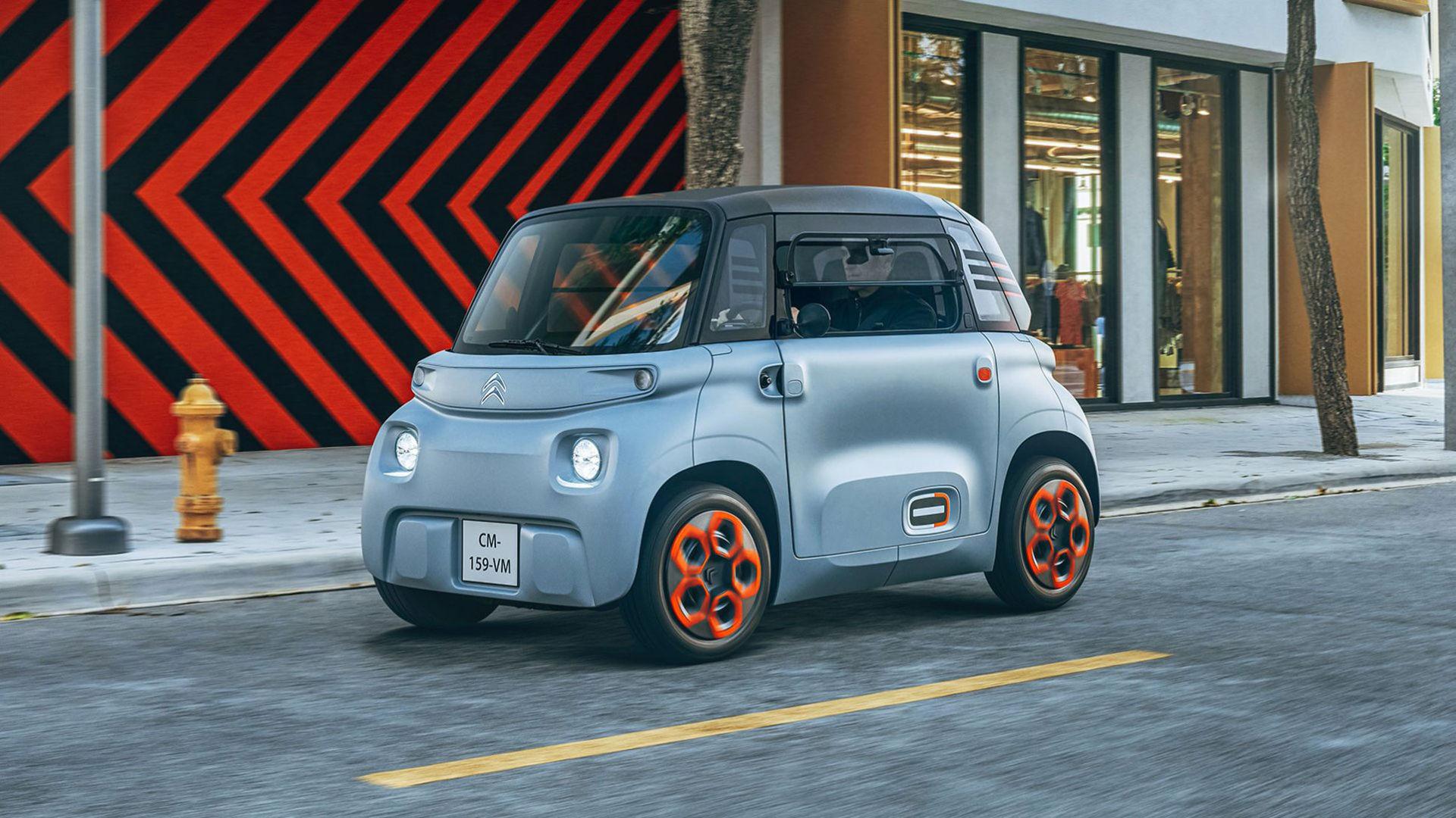 Citroën visar liten gullig elbil som får köras av 14-åringar