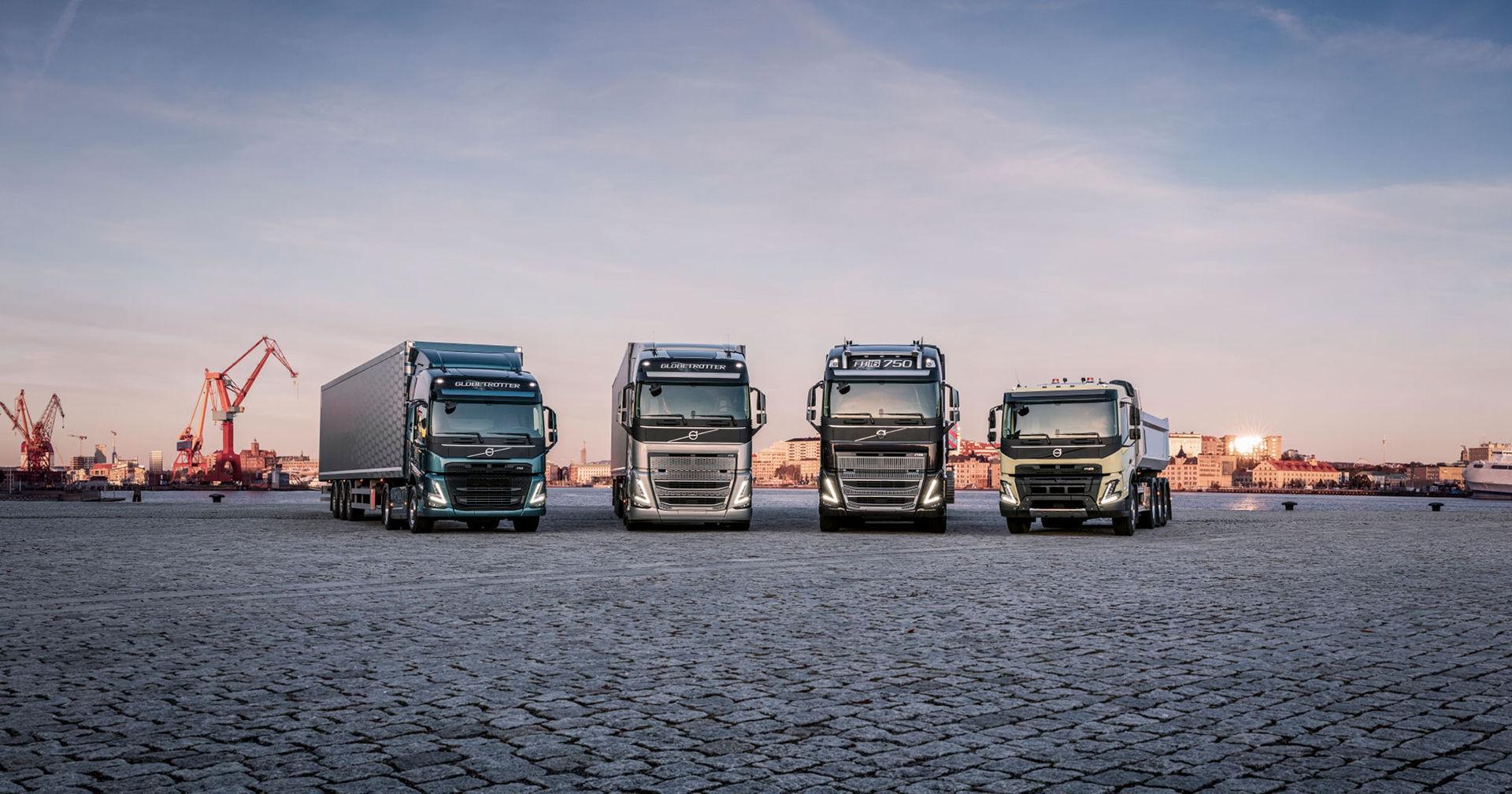 Volvo Lastvagnar presenterar sina nya tunga lastbilar