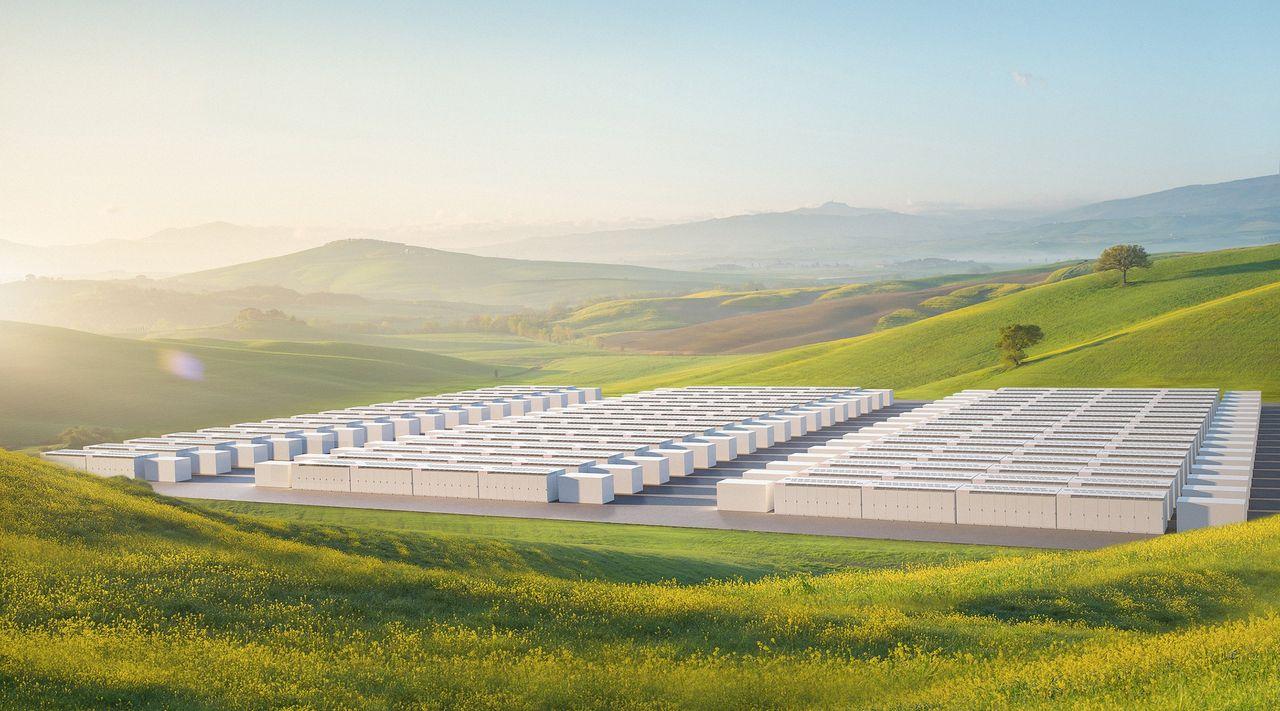 Tesla ska bygga världens största batterifarm