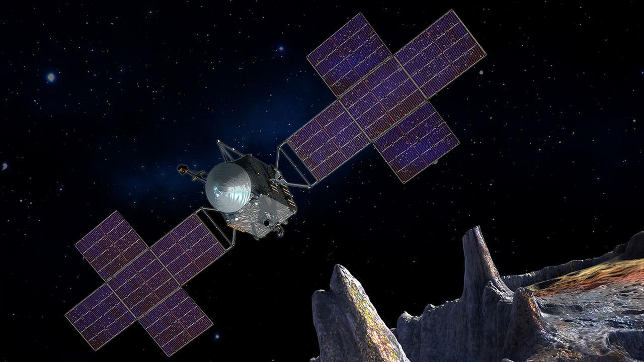 SpaceX ska skicka satellit till asteroid bortanför Mars
