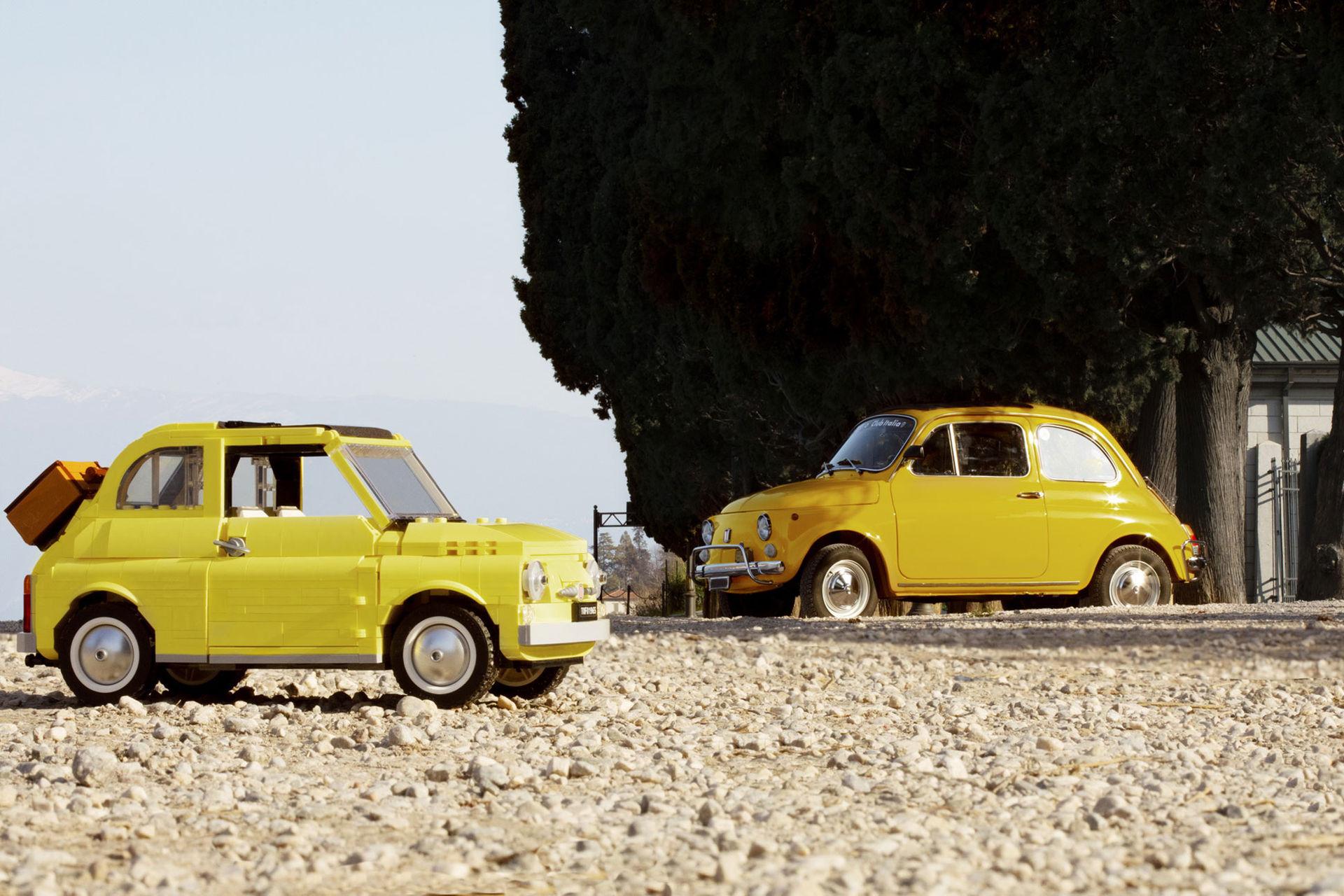 Lego har tagit fram en klassisk Fiat 500