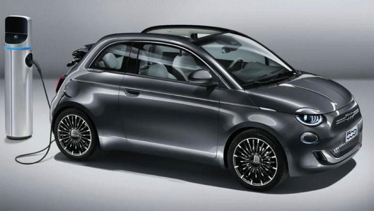 Nya eldrivna Fiat 500 läcker ut