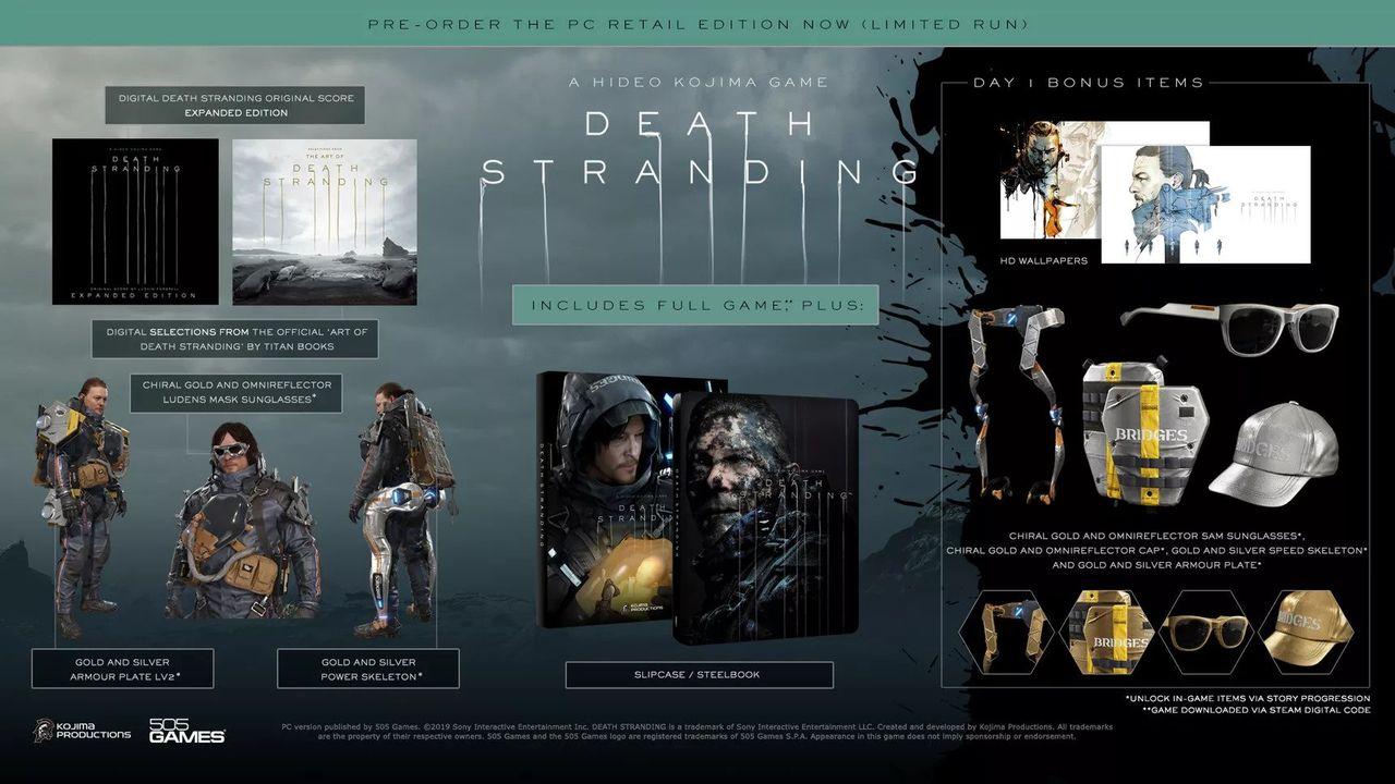 Death Stranding släpps 2 juni till PC