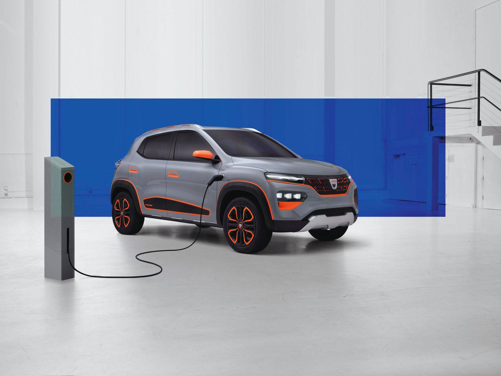 Dacia visar eldriven konceptbil