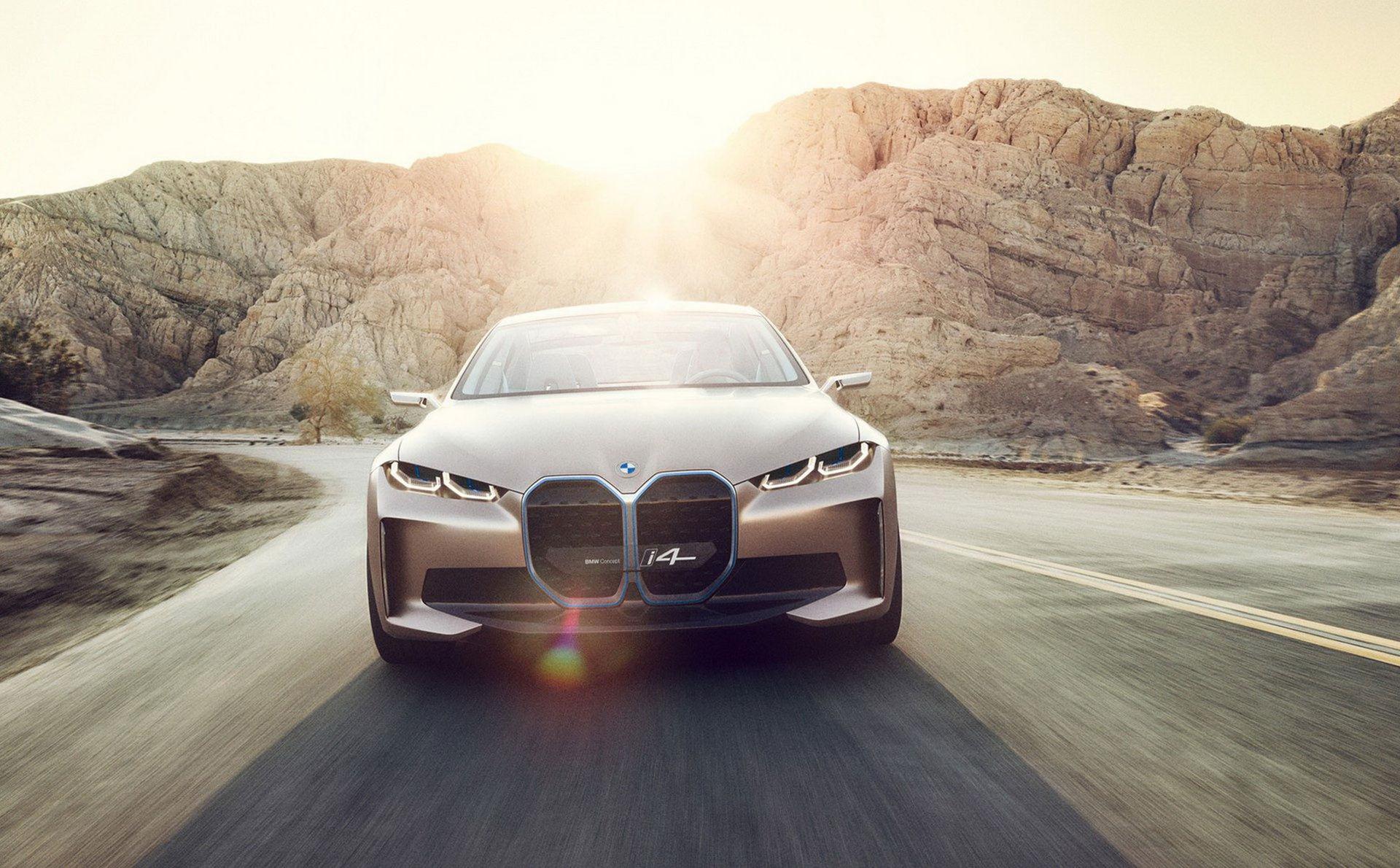 BMW presenterar Concept i4