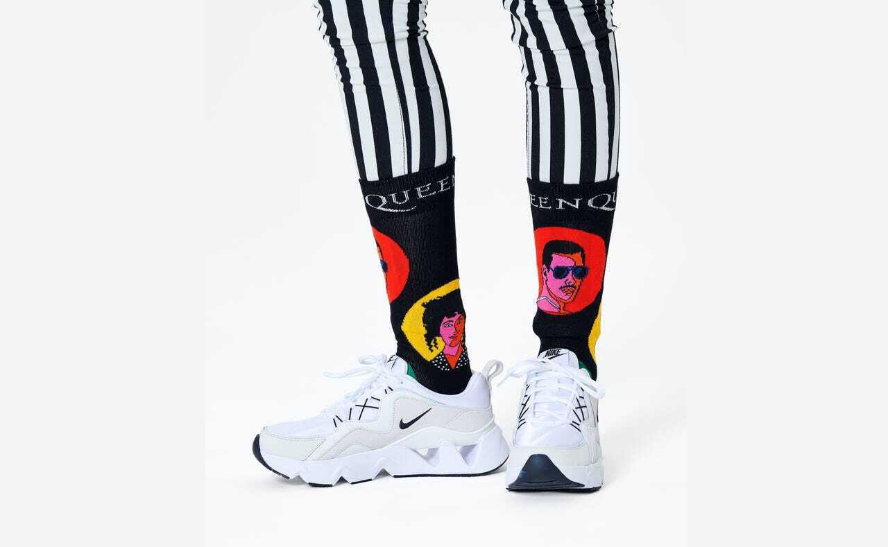 Idag släpps Happy Socks X Queen