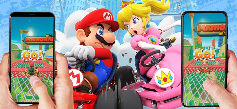 Mario Kart Tour får flerspelarläge nästa vecka