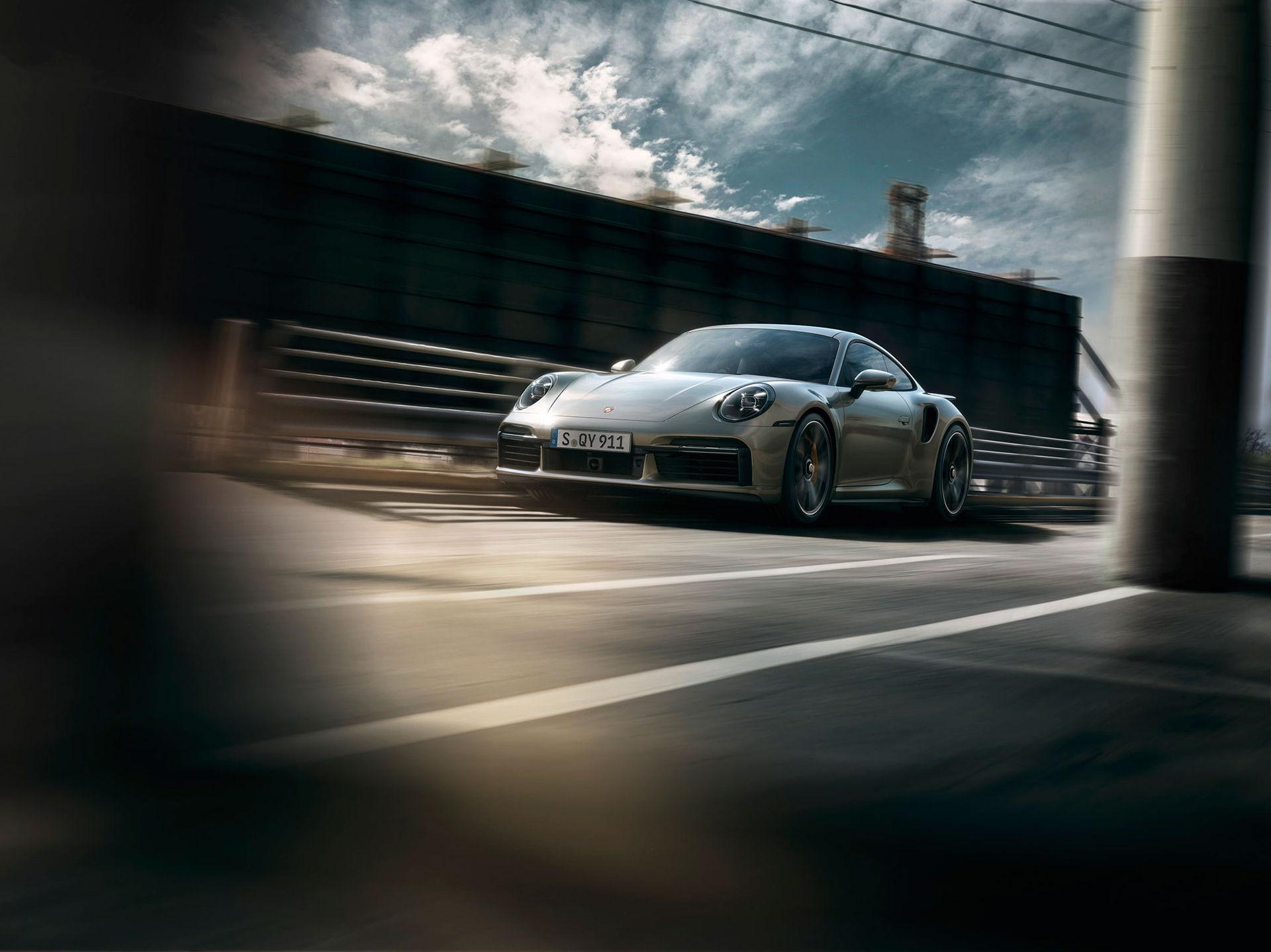 Porsche presenterar nya 911 Turbo S