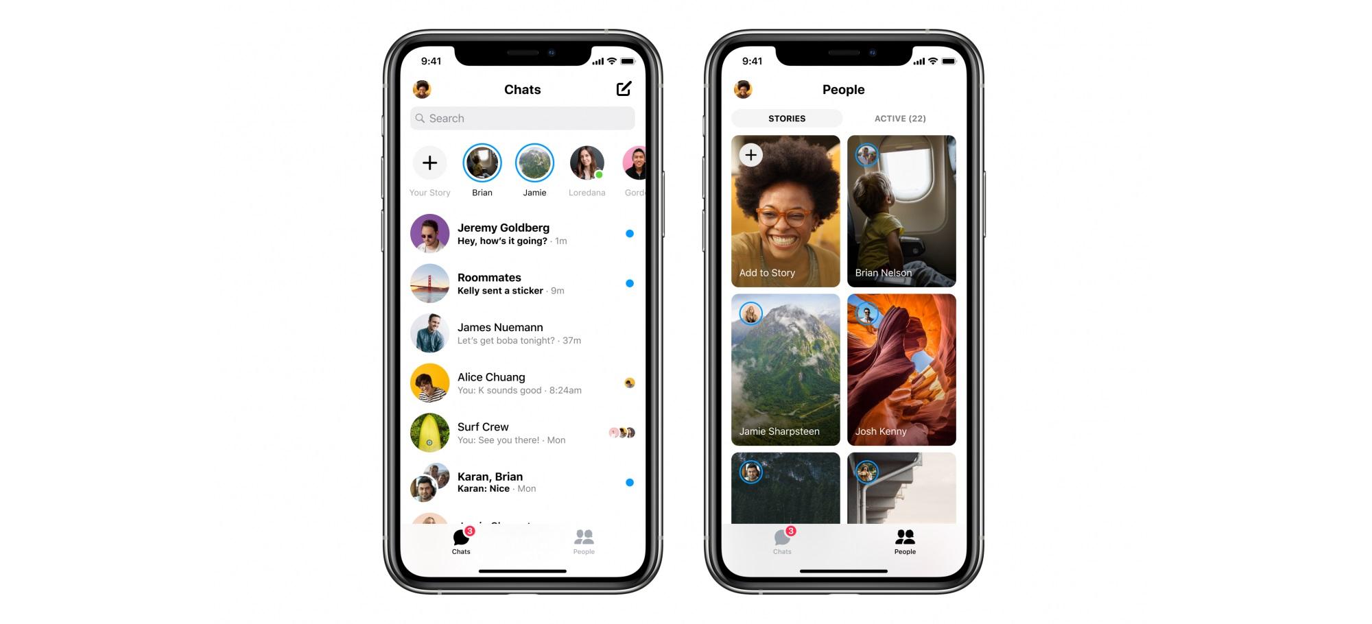 Facebook släpper ny version av Messenger Dubbelt så snabb och betydligt mindre