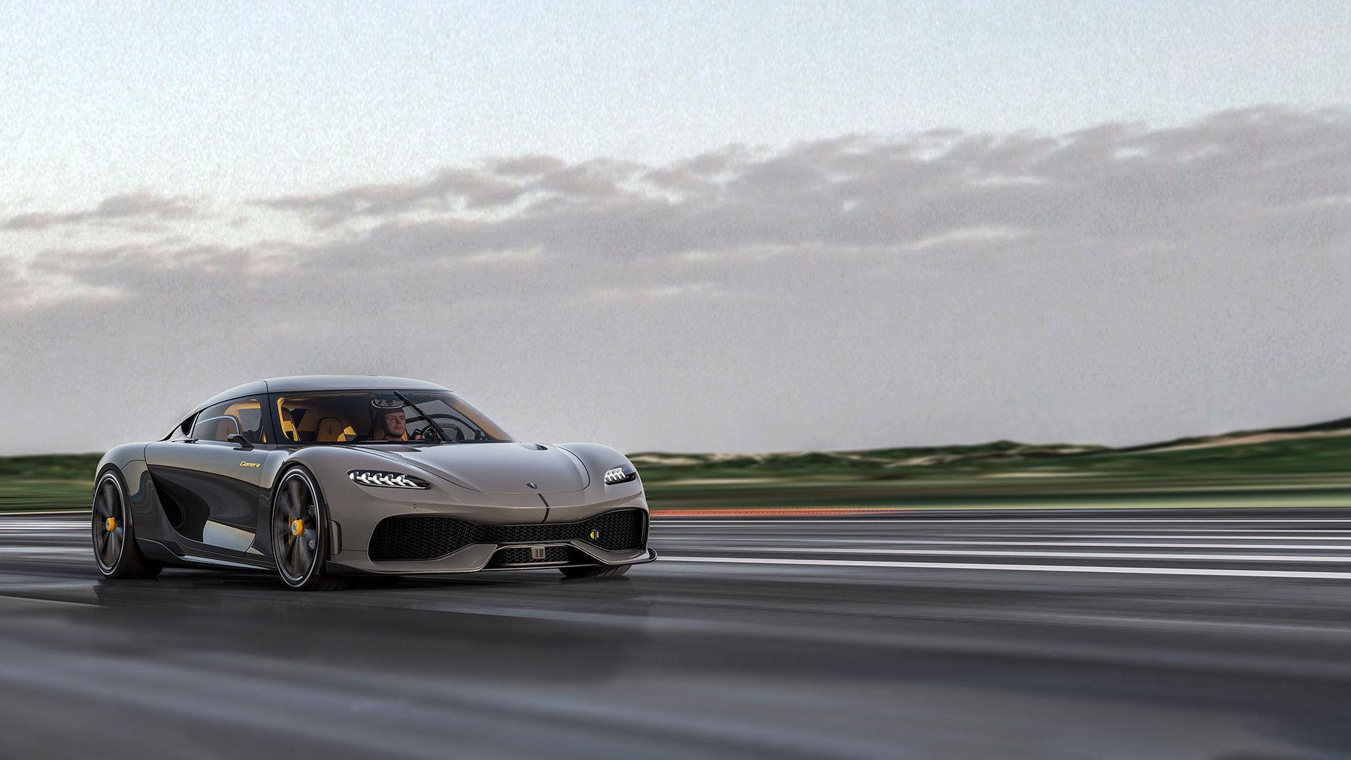 Koenigsegg dundrar ut den nya modellen Gemera