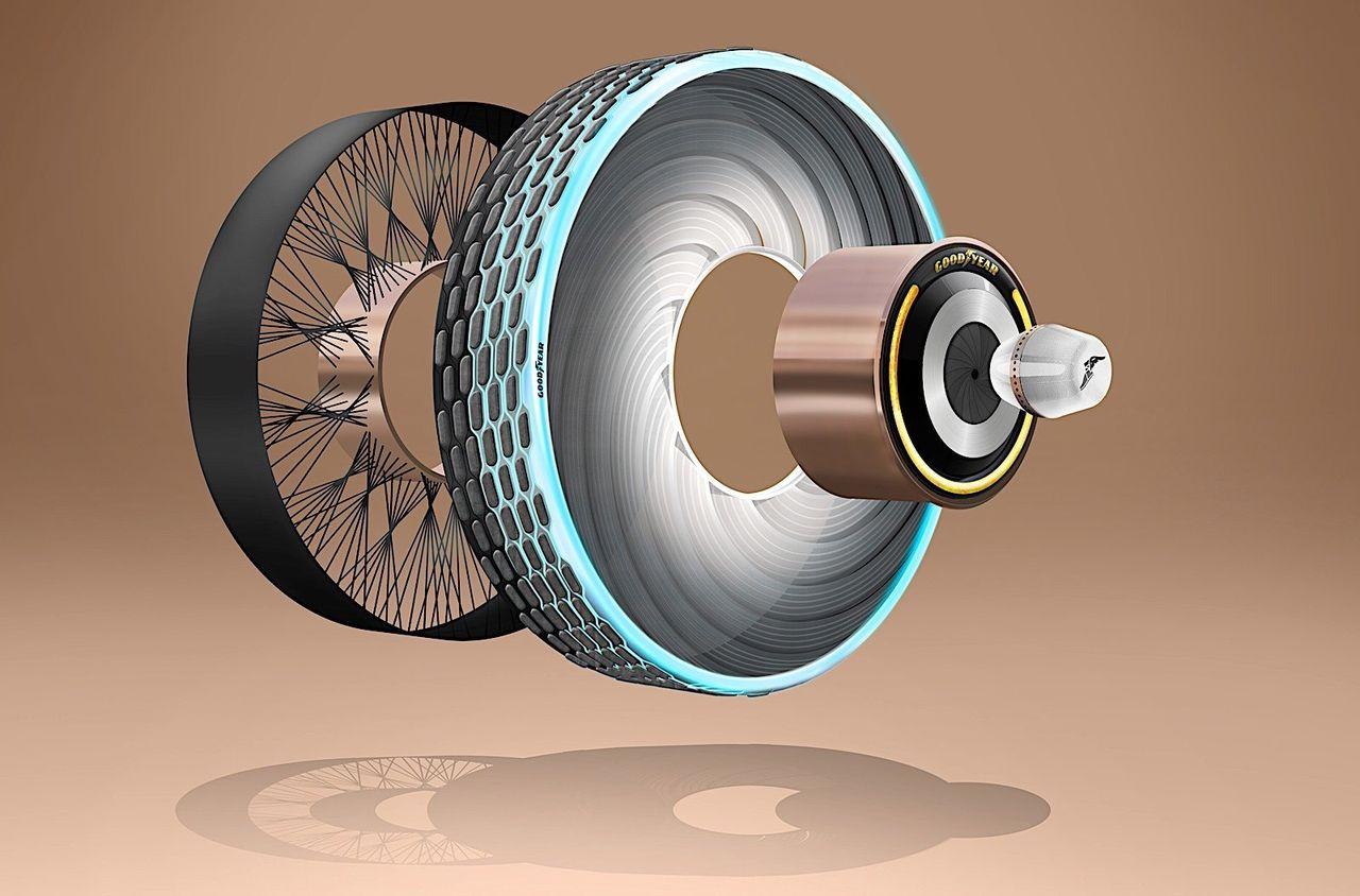 Goodyear visar upp det smarta däcket reCharge