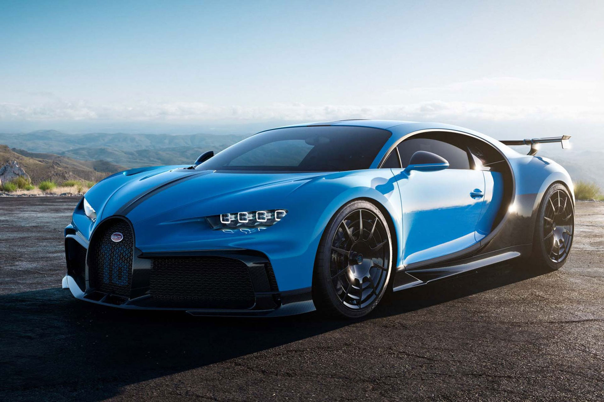 Bugatti hettar till Chiron ytterligare med Pur Sport