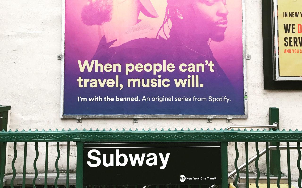 Artister kan promota sin musik med Spotify Marquee