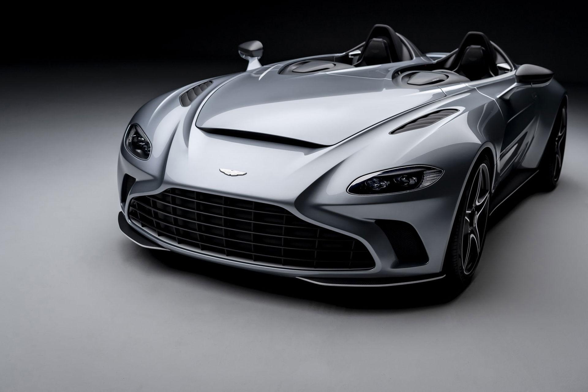 Nu är den här - Aston Martin V12 Speedster