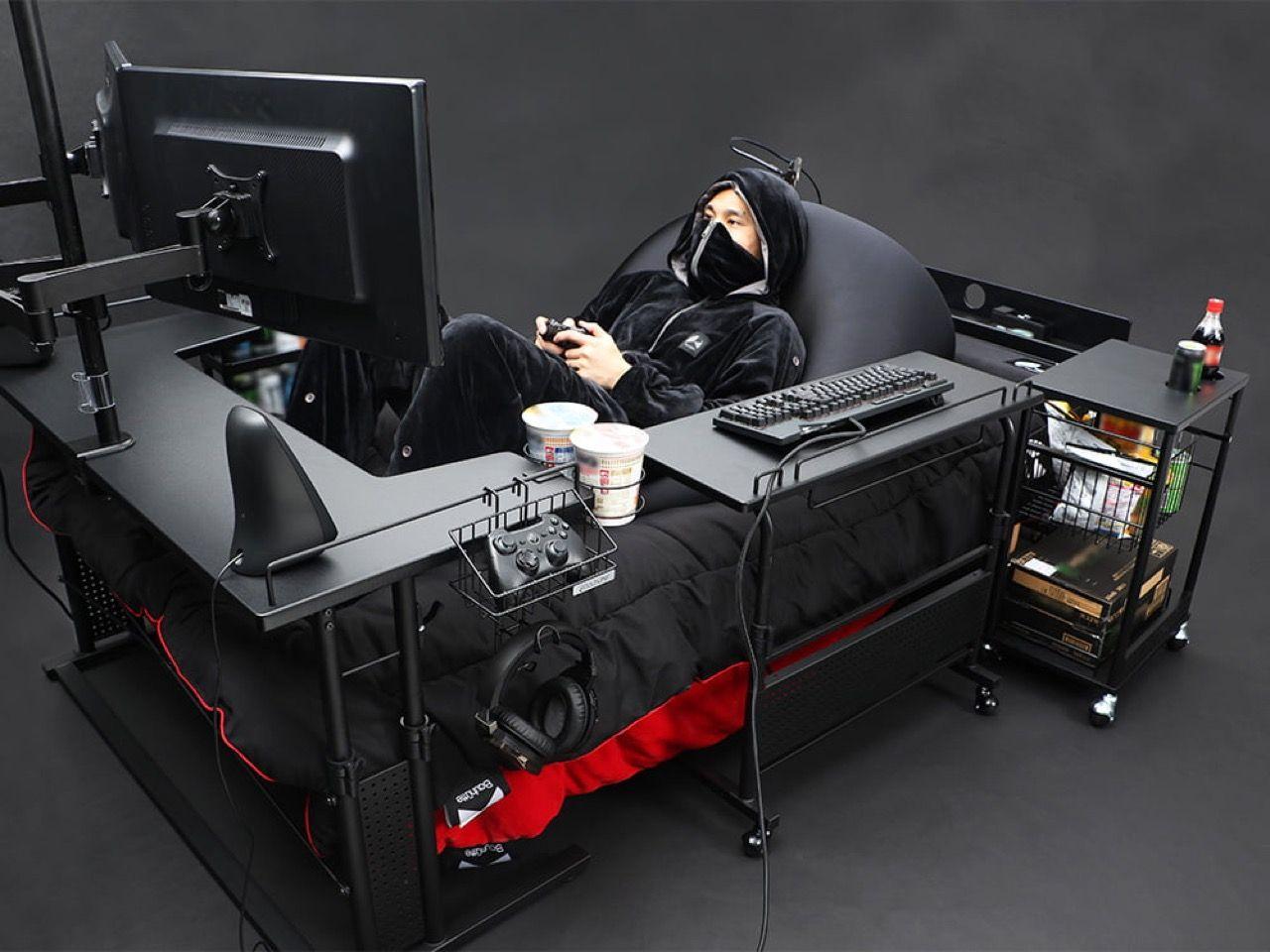 Bauhutte släpper sängar för gamers