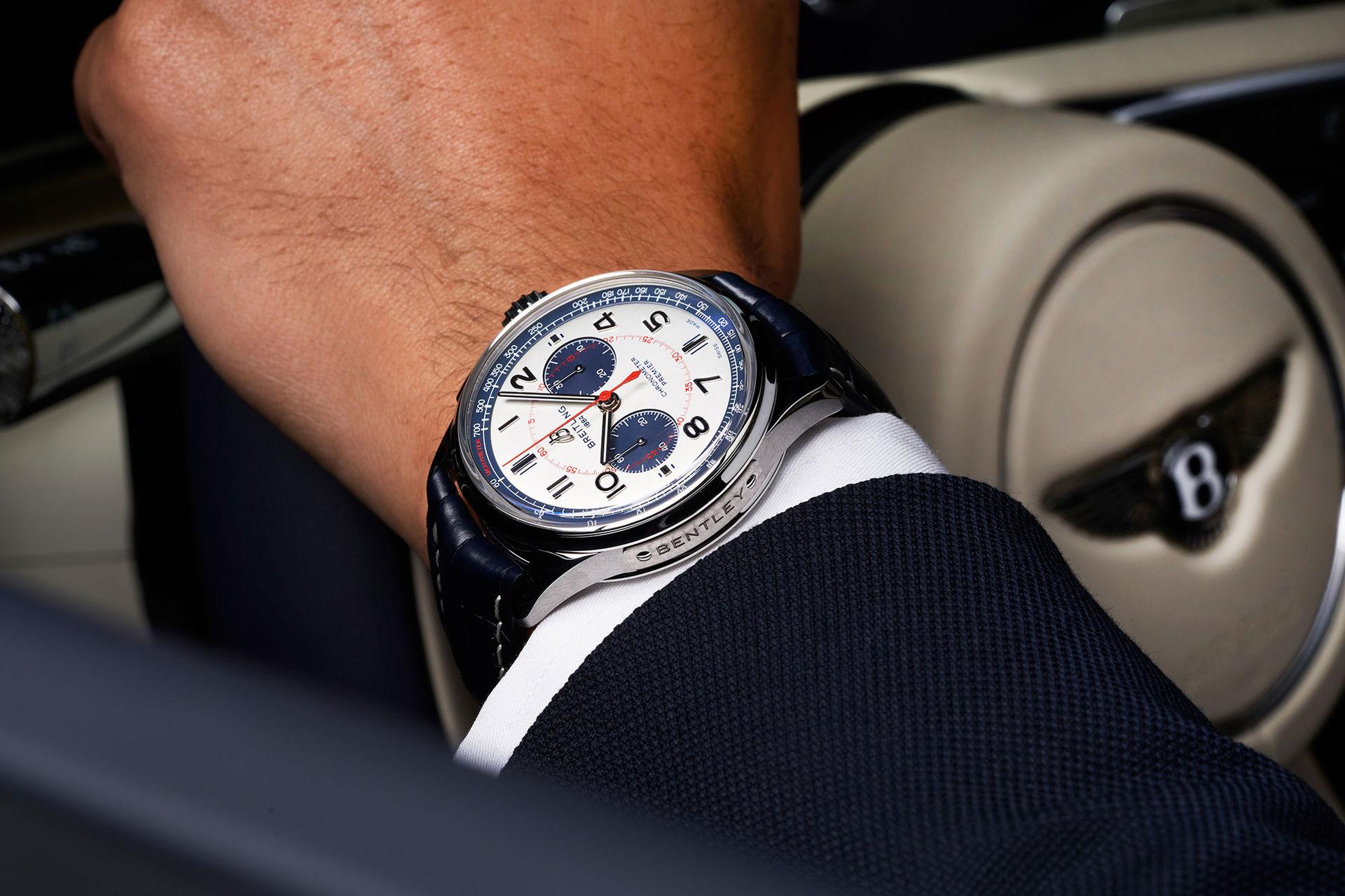 Breitling firar samarbetet med Bentley