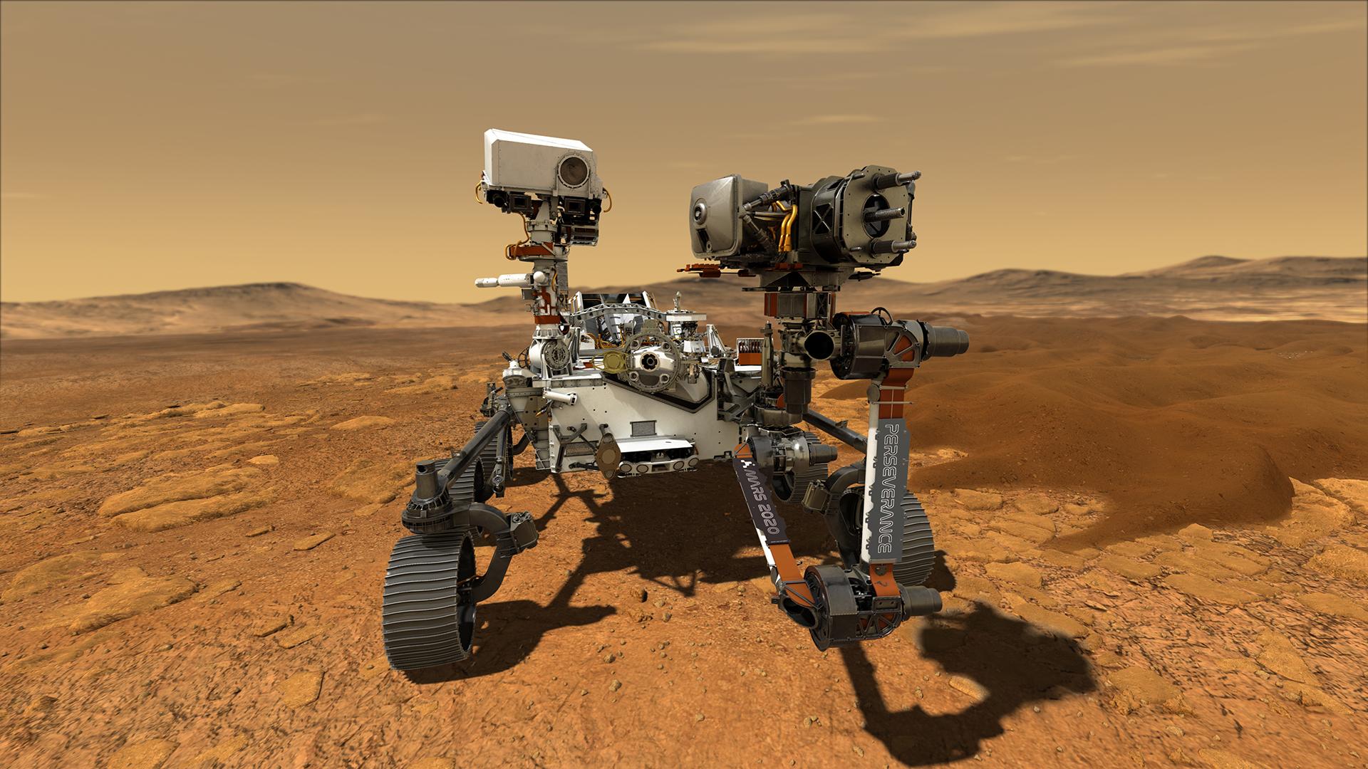 NASA nästa Mars-farkost kommer att heta Perseverance
