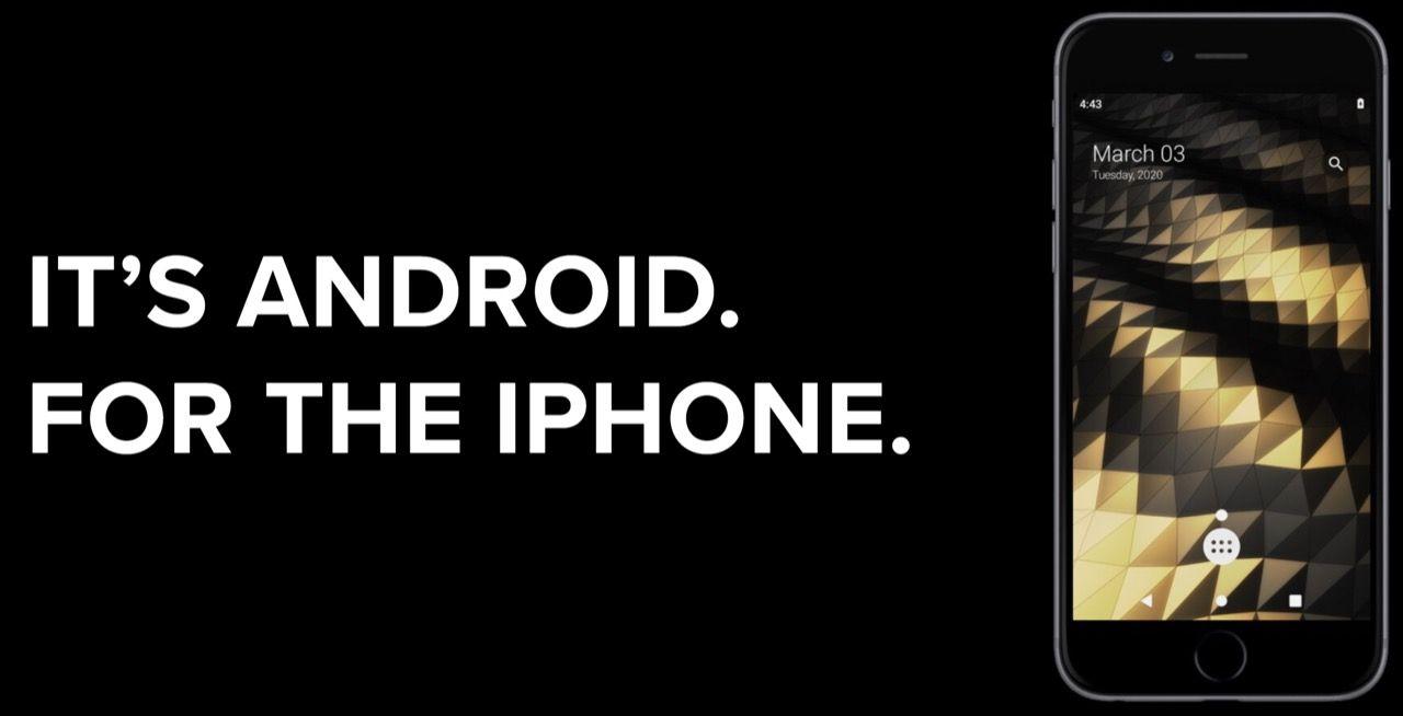 Nu kan man köra Android på iPhone