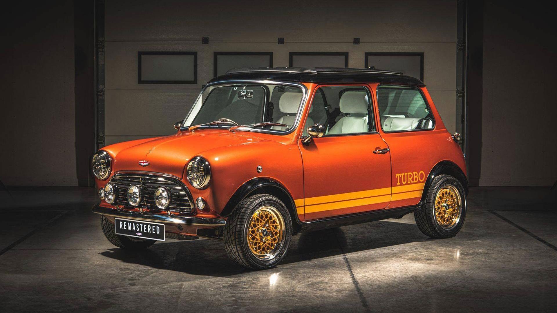 Klassisk Mini som vill vara en Bond-Lotus