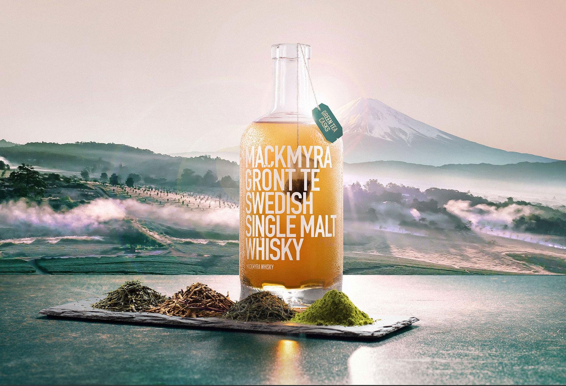Ny Mackmyra-whisky med grönt te