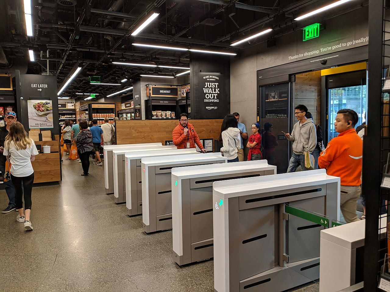 Amazon ska sälja teknik för kassalösa butiker